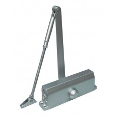 Доводчик для дверей весом до 45 кг, двухскоростной ST-DC002-SL (серебро)