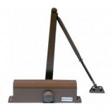 Доводчик для дверей весом до 65 кг. QM-D73 (коричневый)