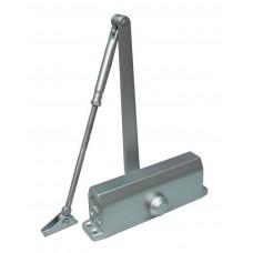 Доводчик для дверей весом до 85 кг, двухскоростной ST-DC004-SL (серебро)