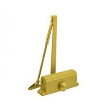 Доводчик дверной NORA-M 3S-бол. (золото)
