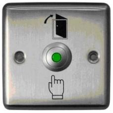 Кнопка металлическая с подсветкой, врезная ST-EX110L