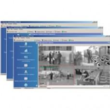 Комплект ПО «Контроль доступа с видеоидентификацией, ОПС, Видео, Дисциплина, УРВ» PERCo-SP16