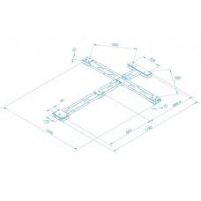 Монтажная рама PERCo-RF01 0-01