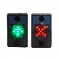 Светодиодная мнемосхема «красный крест», «зеленая стрелка» MNEMO-KZ